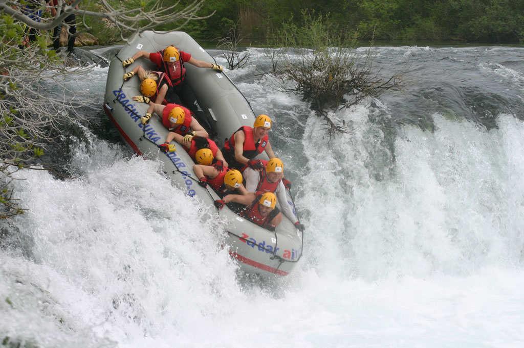 Rafting or Kayaking Zrmanja